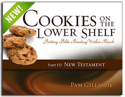 Cookies on the Lower Shelf- Part 3: New Testament