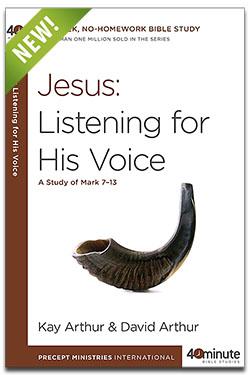 Jesus: Listening for His Voice