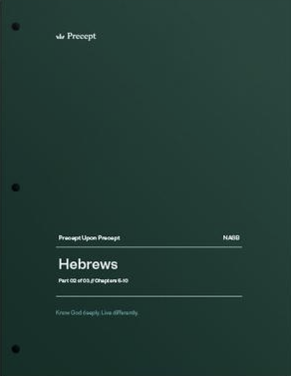 Hebrews Part 2 (Chapters 5-10)