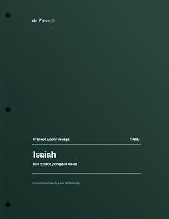 Isaiah Part 2 (Chapters 40-66)
