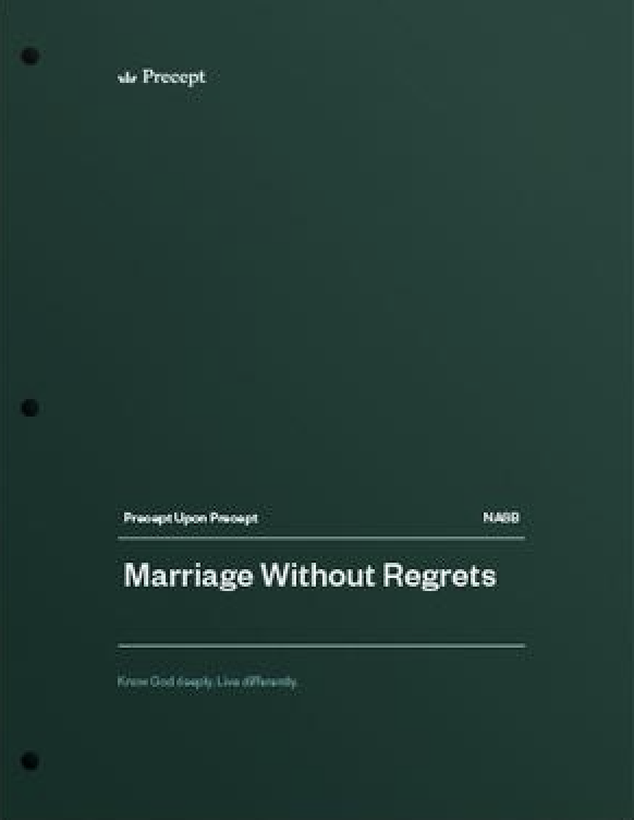 Marriage Without Regrets