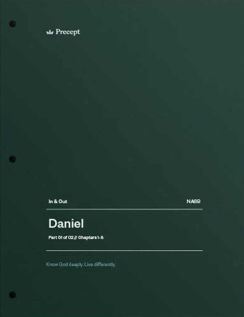 Daniel Part 1 (Chapters 1-6)