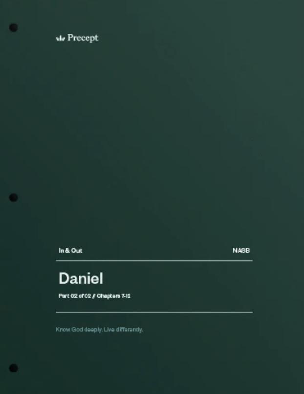 Daniel Part 2 (Chapters 7-12)