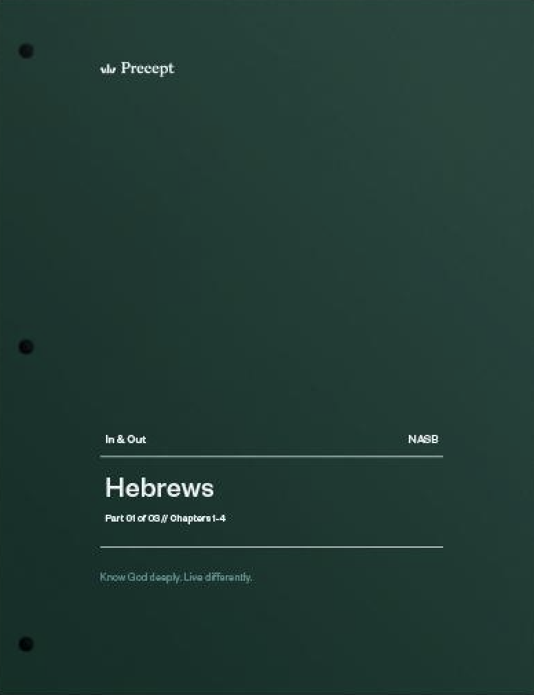 Hebrews Part 1 (Chapters 1-4)