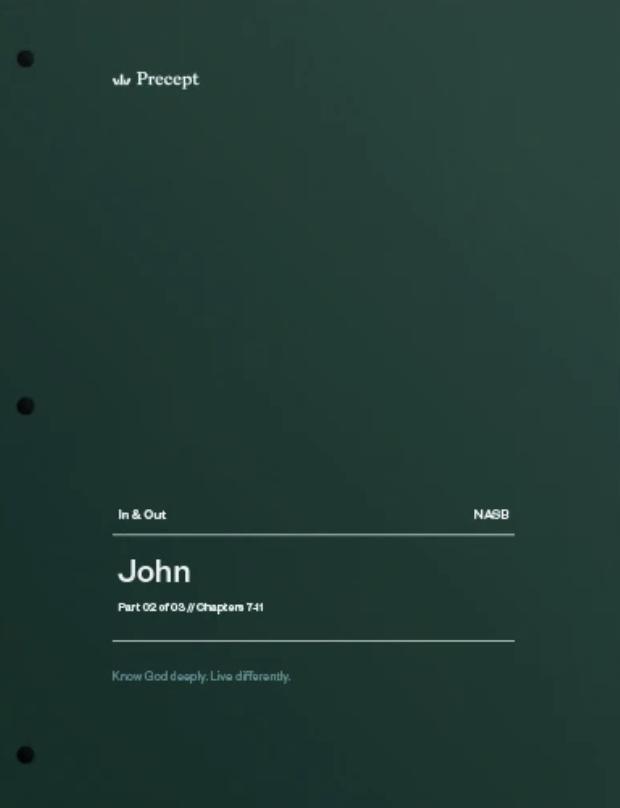 John Part 2 (Chapters 7-11)