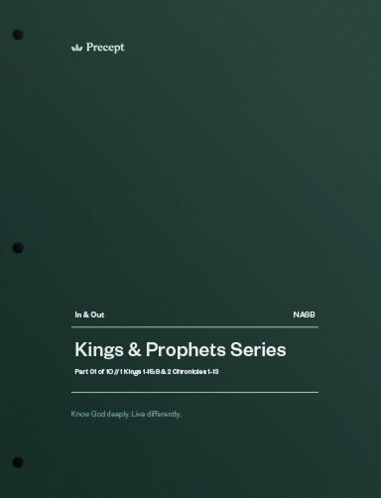 Kings & Prophets 01 - A Divided Heart, A Divided Nation