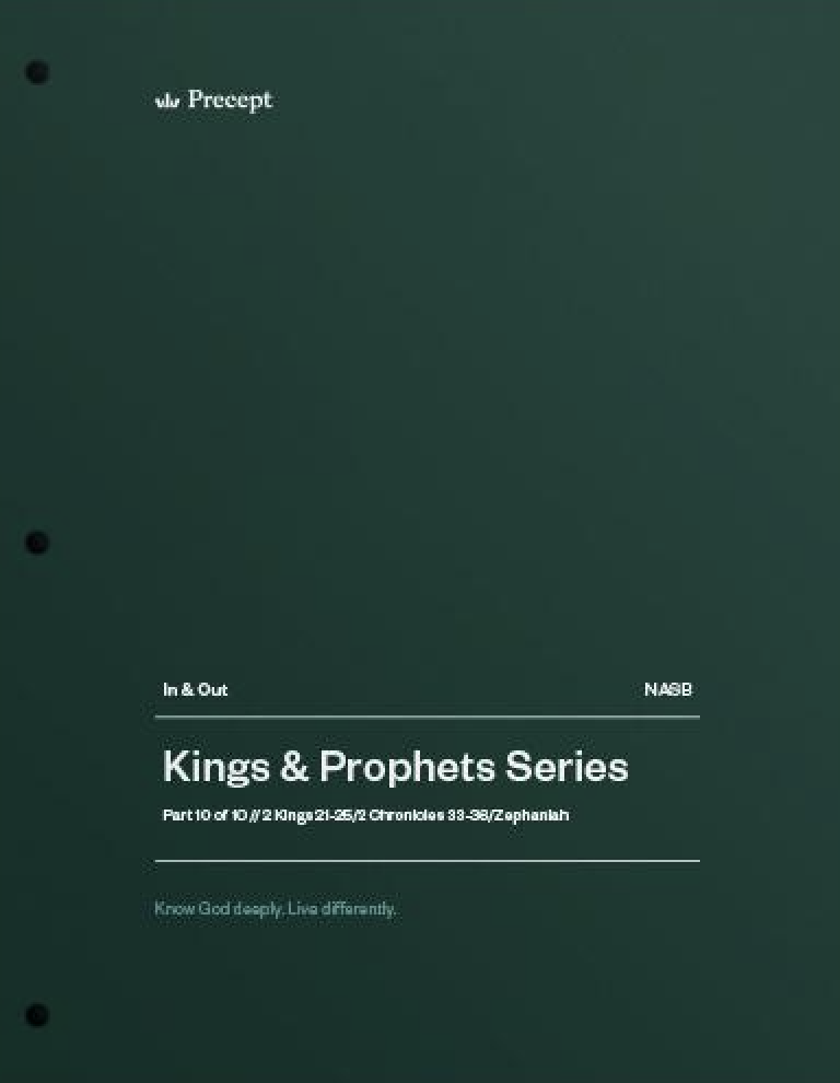 Kings & Prophets 10 - The Good, The Bad & The Ugly