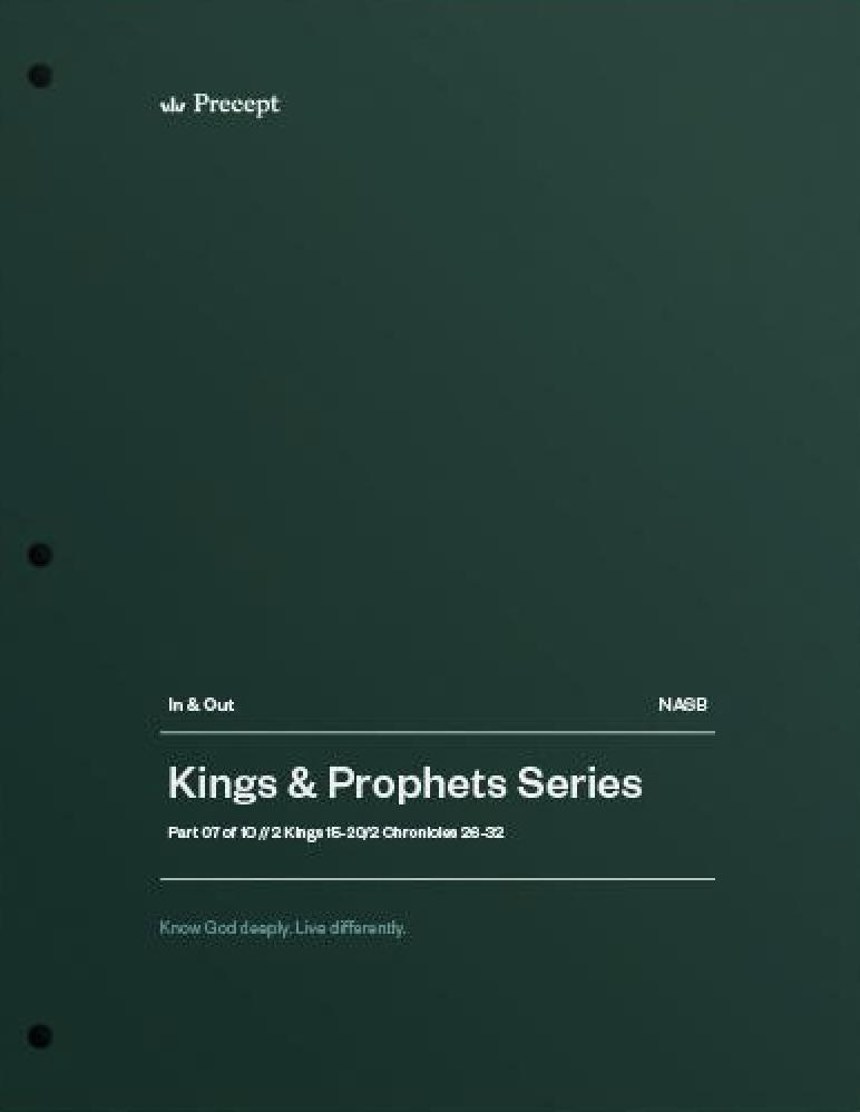 Kings & Prophets 07 - Revival or Captivity?