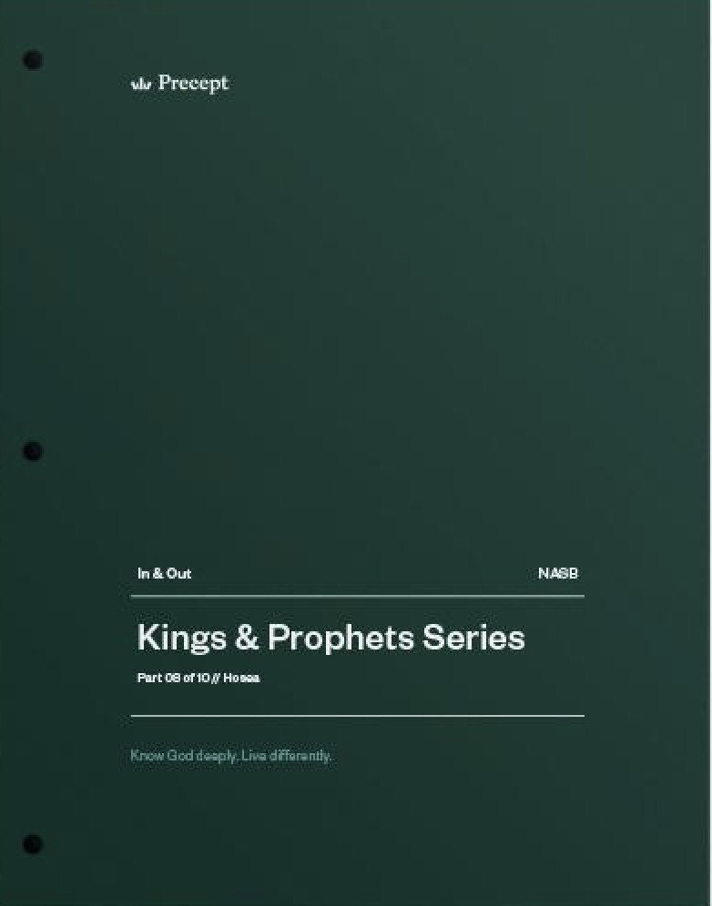 Kings & Prophets 08 - A Love that Will Not Let Me Go
