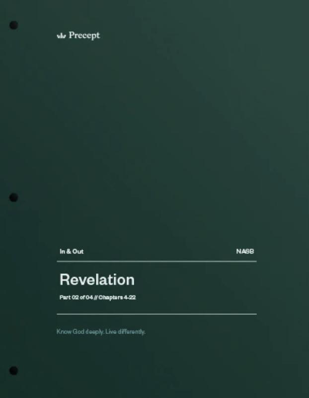 Revelation Part 2 (Chapters 4-22)