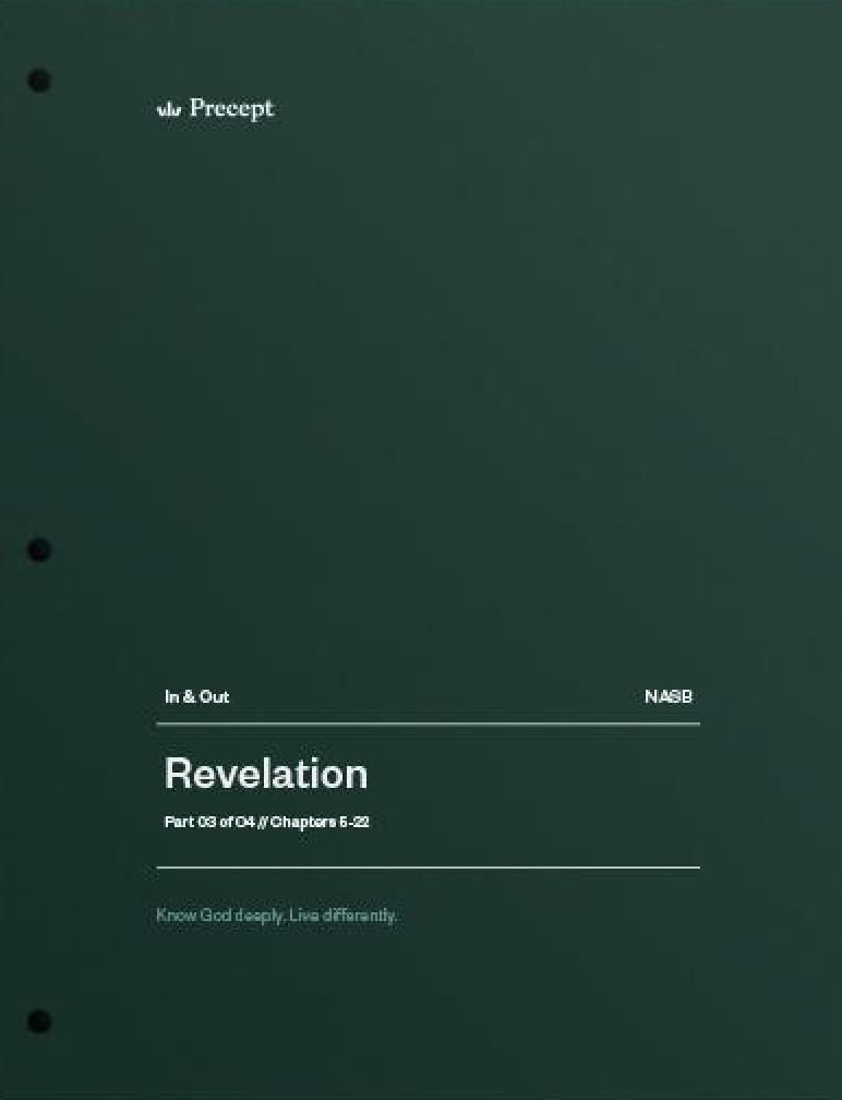 Revelation Part 3 (Chapters 5-22)